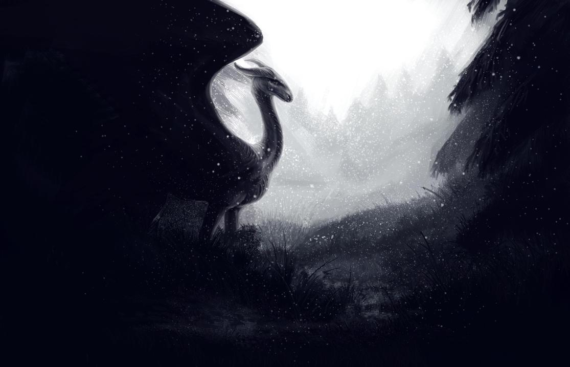 Random dragon by LonGrand
