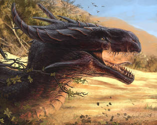 Dragon by LonGrand