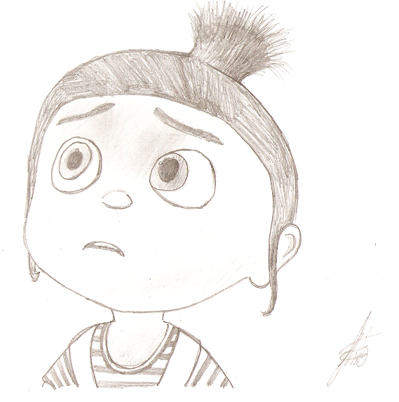 Despicable Me - Agnes by Thbio on DeviantArt