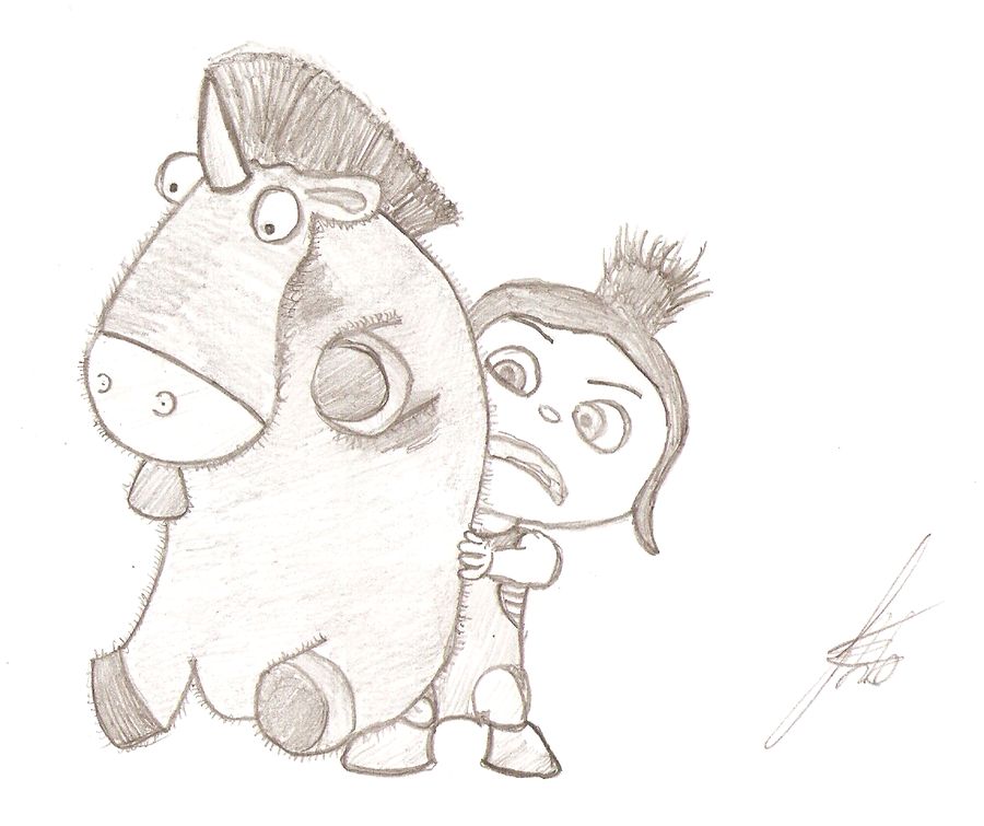 deviantART  More Like Minions by BeekerBabyDespicable Me Unicorn Drawing