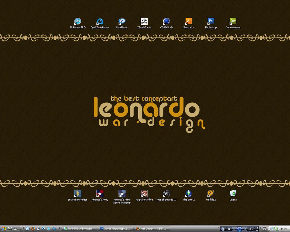 My desktop... by stmplh