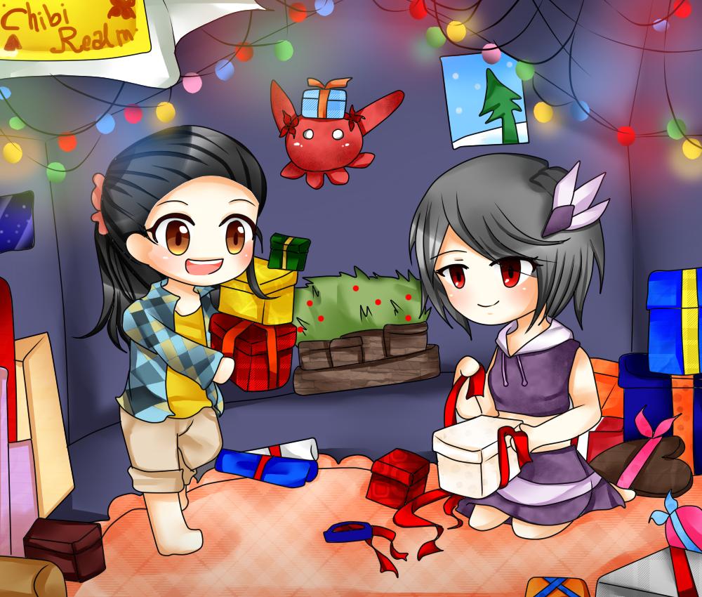 Preparing Christmas! by Roslue-chii