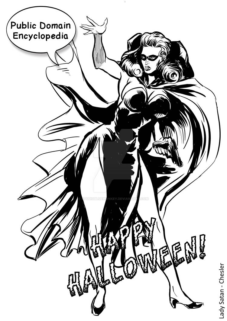 PDE - Lady Satan - Halloween 2015