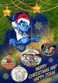Merry Monkey  Christmas!