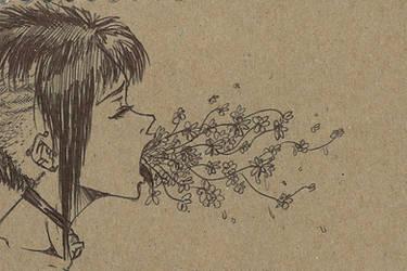 Ugly Beauty Sick Spitter. by bil-let-doux