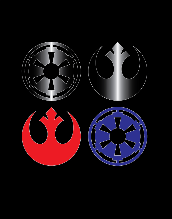 Image Result For Star Wars Logo By Johnnyslowhand On