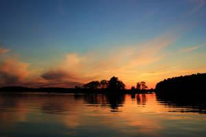 Summer sunset by Rrraa