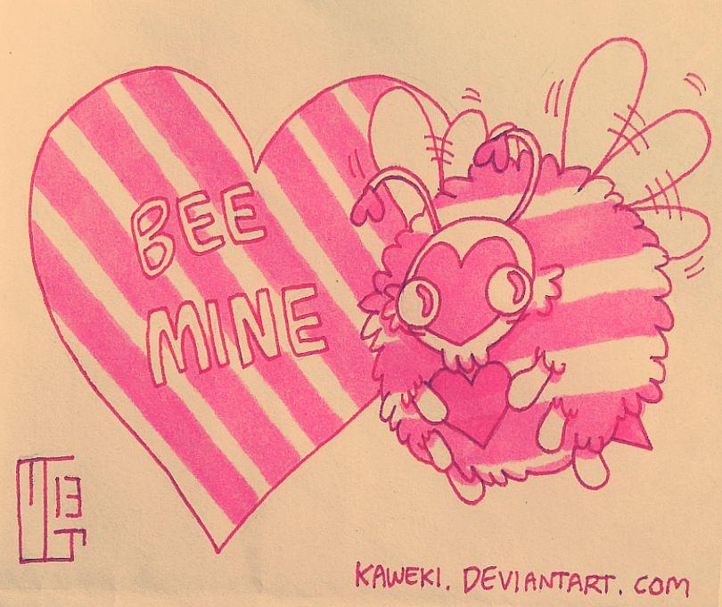 Bee Mine by Kaweki