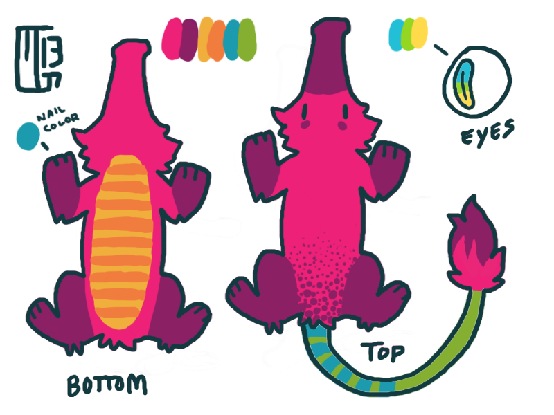 Zabuji Color Ref by Kaweki