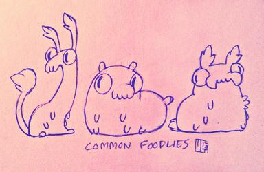 Common Foodlies (PLEASE READ!) by Ferwildir