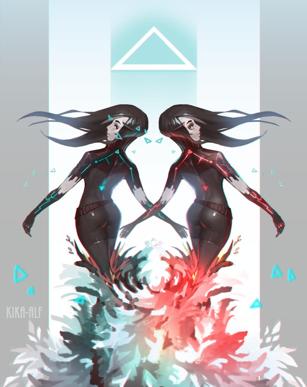 Duet by Kika-alf
