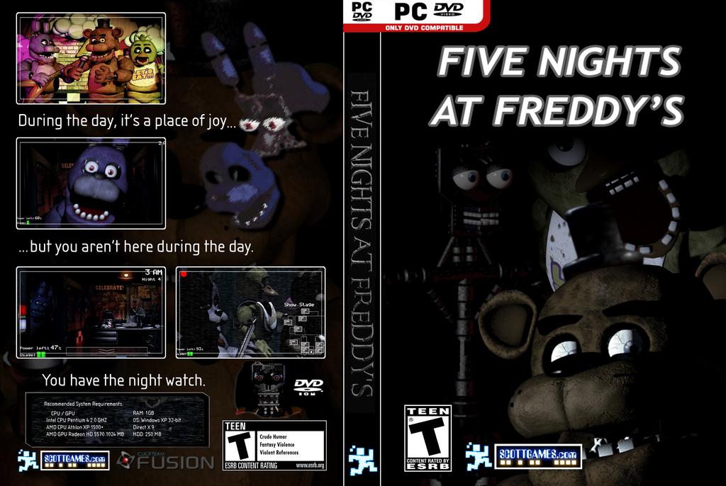 free five nights of freddy game on pc
