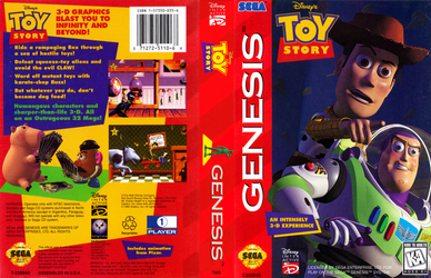 Toy Story Sega Genesis Cover by JuCstin