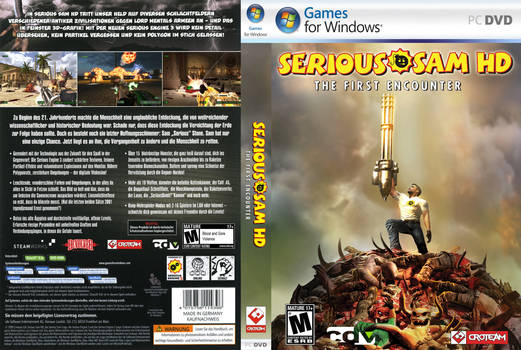 Serious Sam HD (German/USA) Cover