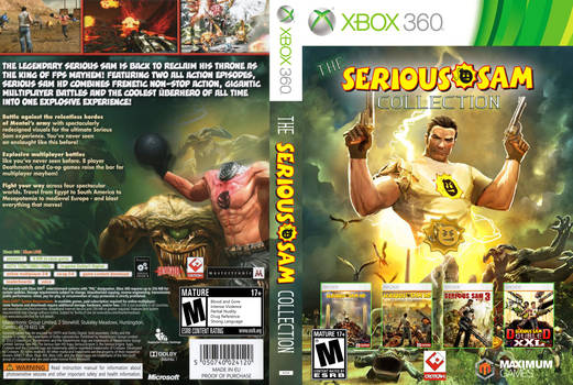 Serious Sam Collection [Custom Print-Out]