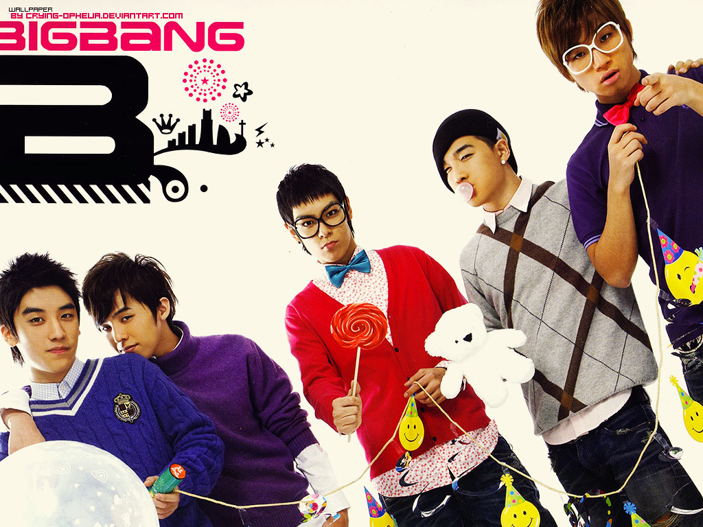where kpoplovers love kpop~: Big Bang Collection Of Photo Album 2 ...