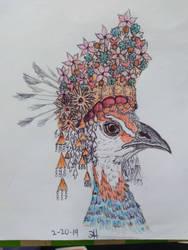 Pavanese (Inspired) Peacock by TheRamblingRabbit