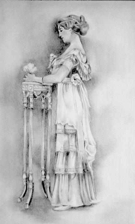 a lady by nad80