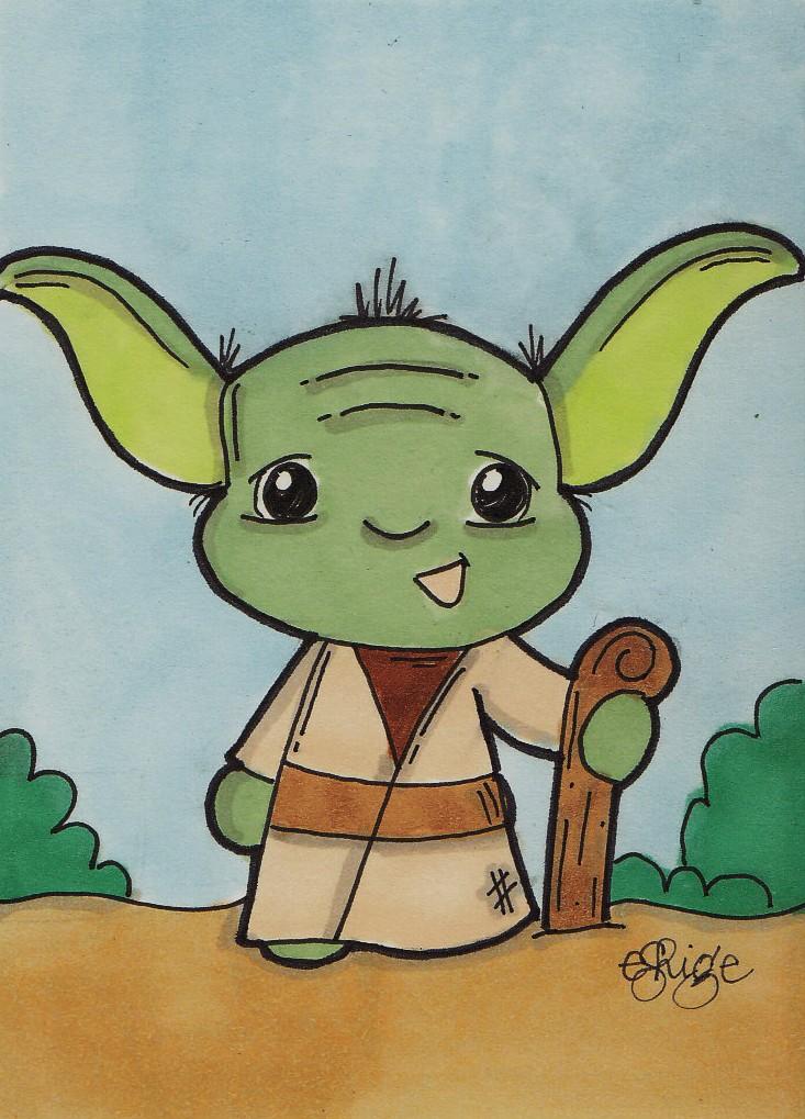 Young Yoda by eileenshige