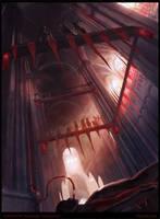 Vampire Hangout by oakenvial