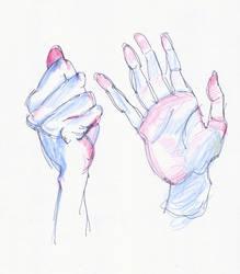 Hands 2 by oakenvial