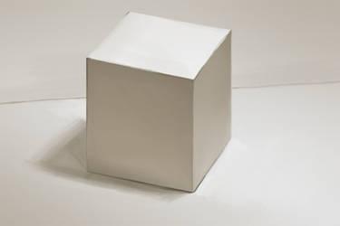 Paper cube by oakenvial