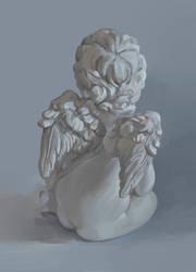 Angel's back by oakenvial