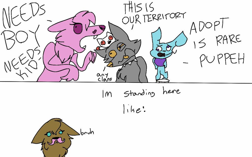Animal Jam be like by Psychokittywolf on DeviantArt