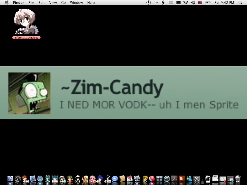 Mi tablero del escritorio xd by zim candy on deviantart - Tablero escritorio ...