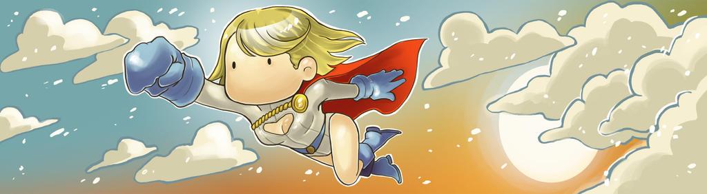 Power Girl by Vivian-Mule