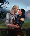 Geralt and Yen