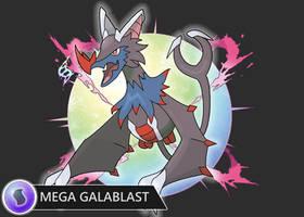 Mega Galablast by Harmony-PokeArt