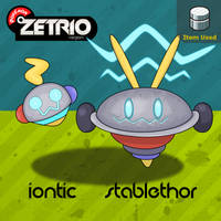 Iontic And Stablethor by Harmony-PokeArt
