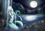 Moonbathing (Bikini-Mermaid)