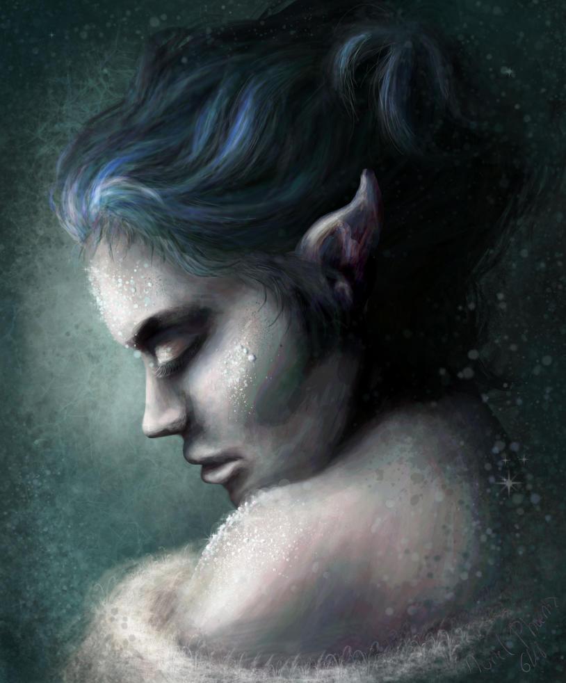 A thousand splendid diamonds - portrait study by AurielPhoenix