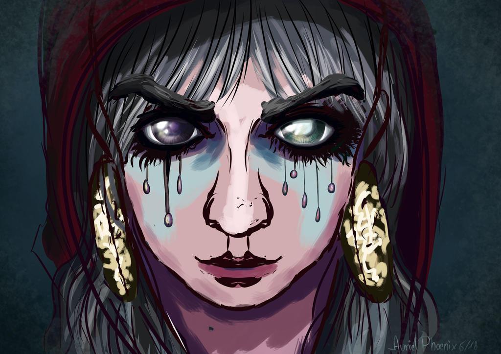 Face Dead Eyes by AurielPhoenix