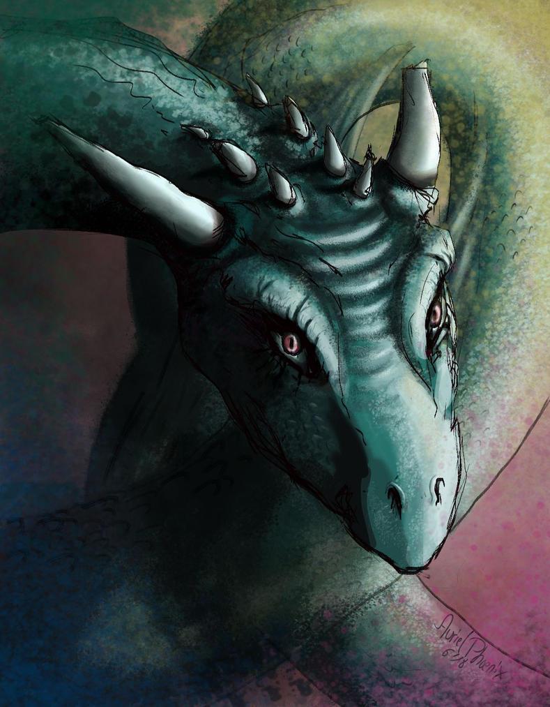 RGB Dragon by AurielPhoenix