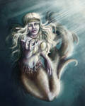 'Come to me' - Beckoning Mermaid