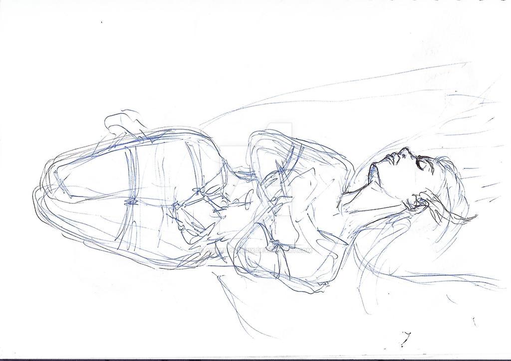 WIP Sketch 2018 - Valkyrie Bound (Scrap) by AurielPhoenix