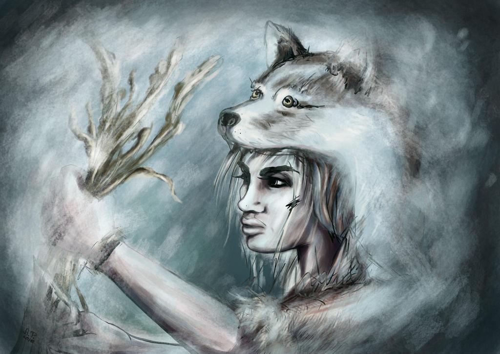 Wolf Child by AurielPhoenix