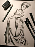 OC Drawing Nymph