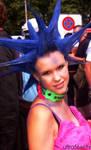 Punk girl at Streetparade 2008