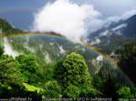 Double Rainbow and UFO
