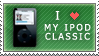 iPod Classic love stamp by EdwardElricFan
