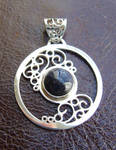Night Swirls pendant