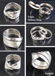 Triple Mobius Ring