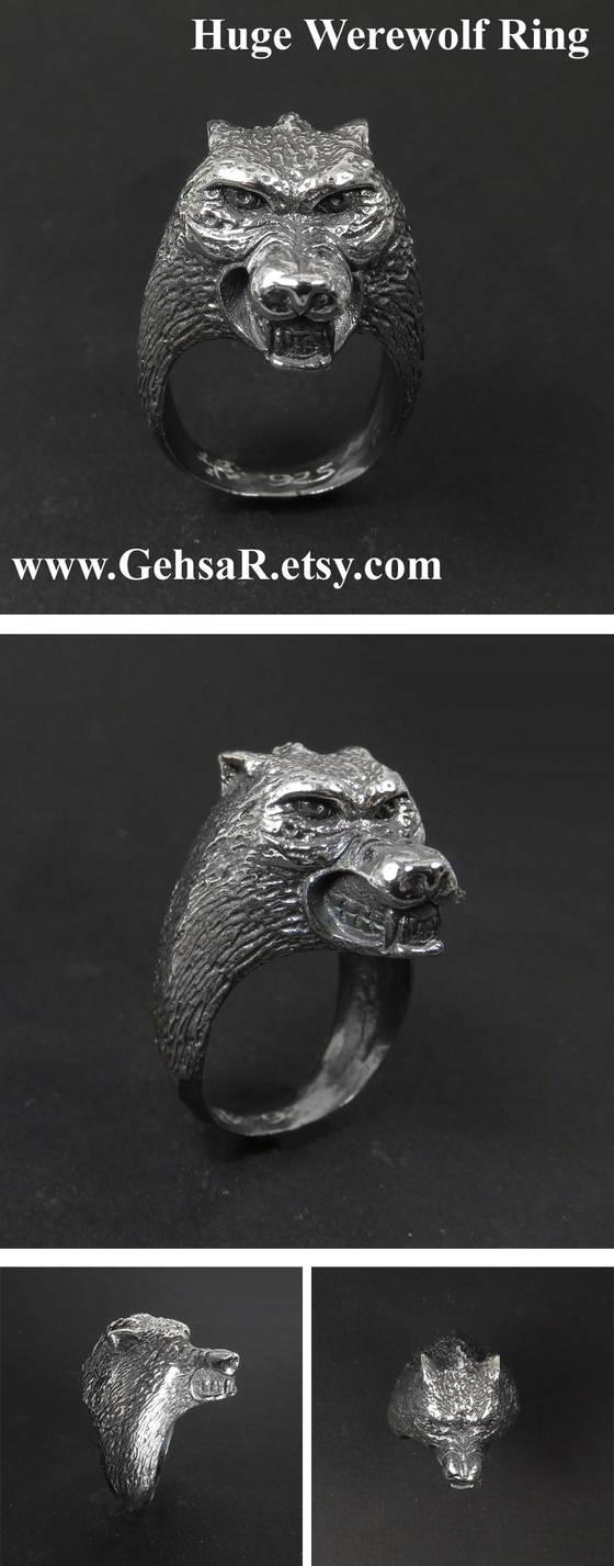 Huge Werewolf Ring