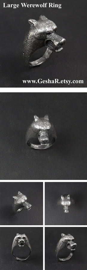 Medium Werewolf Ring