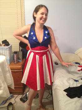 Captain America USO costume