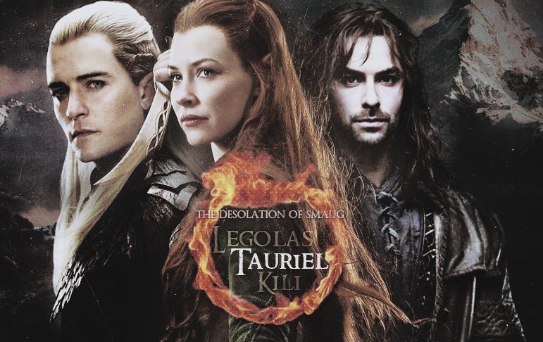 Legolas, Tauriel and Kili